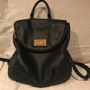 Marc Jacobs classic leather backpack
